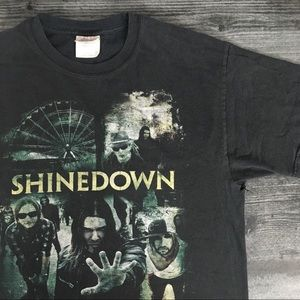 2010 Shinedown Carnival Of Madness Tee